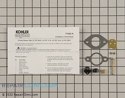 Rebuild Kit, Kohler Engines Genuine OEM  12 757 08-S - $18.85
