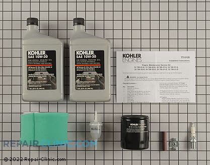Tune Up Kit, Kohler Engines Genuine OEM  12 789 02-S