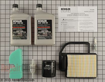 Tune Up Kit, Kohler Engines Genuine OEM  20 789 01-S