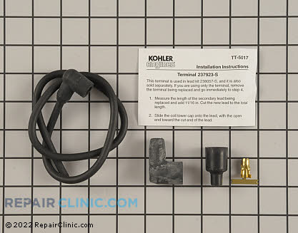 Spark Plug Wire, Kohler Engines Genuine OEM  238057-S