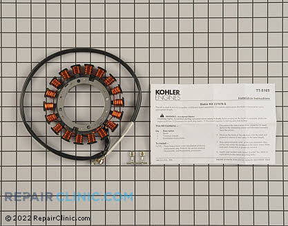 Stator, Kohler Engines Genuine OEM  237878-S