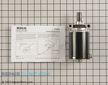 Electric Starter, Kohler Engines Genuine OEM  25 098 07-S