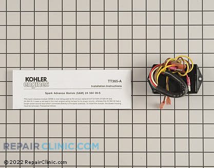 Ignition Coil, Kohler Engines Genuine OEM  24 584 09-S