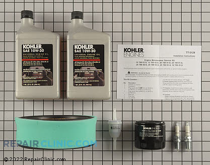 Tune Up Kit, Kohler Engines Genuine OEM  24 789 01-S