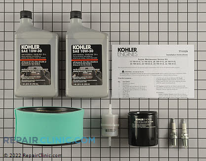 Tune Up Kit, Kohler Engines Genuine OEM  24 789 03-S