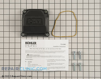 Valve Cover, Kohler Engines Genuine OEM  24 755 141-S - $18.65
