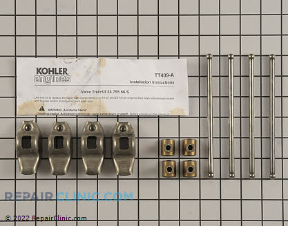 Valve Train Kit, Kohler Engines Genuine OEM  24 755 66-S