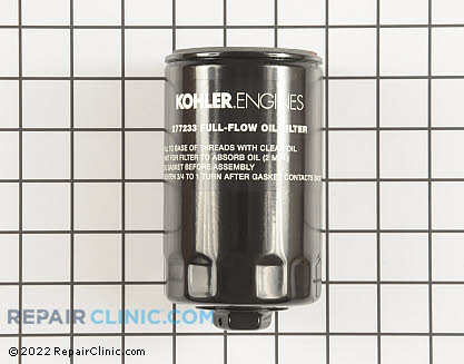 Oil Filter, Kohler Engines Genuine OEM  277233-S