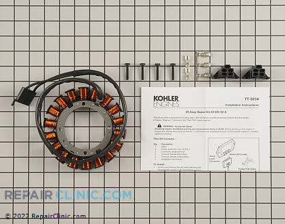 Stator, Kohler Engines Genuine OEM  28 085 02-S