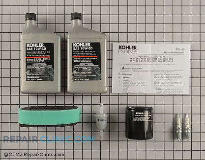 Tune Up Kit, Kohler Engines Genuine OEM  32 789 01-S