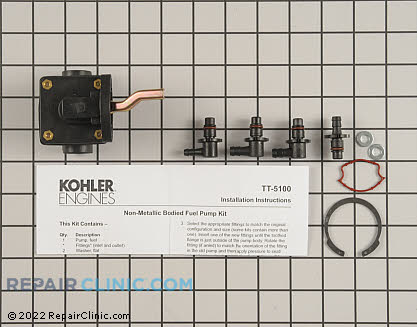 Fuel Pump, Kohler Engines Genuine OEM  41 559 05-S