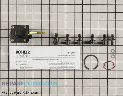 Fuel Pump, Kohler Engines Genuine OEM  52 559 03-S