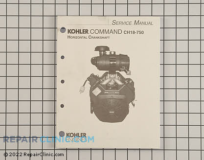 Repair Manual, Kohler Engines Genuine OEM  24 690 06, 2023325