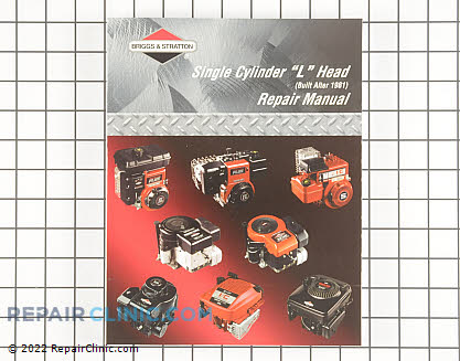 Repair Manual, Briggs & Stratton Genuine OEM  270962