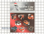 Repair Manual - Part # 1605378 Mfg Part # 270962
