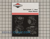 Repair Manual - Part # 1605379 Mfg Part # 271172