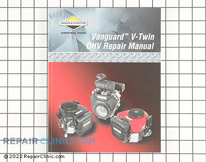 Repair Manual, Briggs & Stratton Genuine OEM  272144