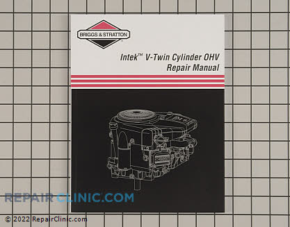 Repair Manual, Briggs & Stratton Genuine OEM  273521