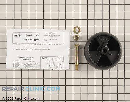 Deck Wheel (Genuine OEM)  753-04856A
