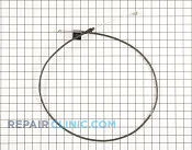 Brake Cable - Part # 1606618 Mfg Part # 92-7738