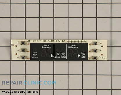 User Control and Display Board (OEM)  DA41-00264D