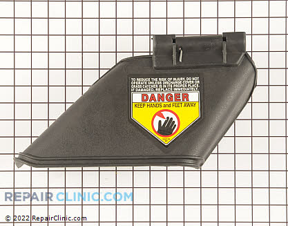 Deflector (Genuine OEM)  931-1034B - $36.00