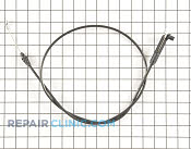 Brake Cable - Part # 1617207 Mfg Part # 115-8437