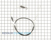 Traction Control Cable - Part # 1617206 Mfg Part # 115-8435