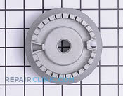 Surface Burner Base - Part # 1555676 Mfg Part # MBE61842101