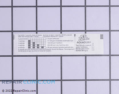 Water Test Strips (OEM)  WD01X10295