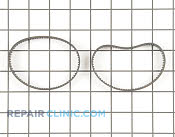 Drive Belt - Part # 1652185 Mfg Part # EL093B