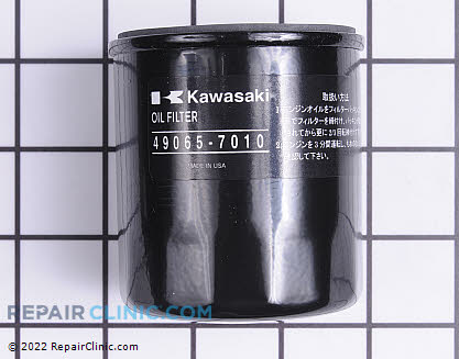 Oil Filter, Kawasaki Genuine OEM  49065-7010