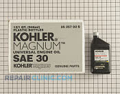 Kohler Magnum Engine Oil - Part # 1602736 Mfg Part # 25 357 02-S