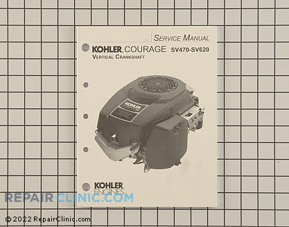 Repair Manual, Kohler Engines Genuine OEM  20 690 01