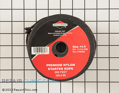 Starter Rope #4.5 230ft, Briggs & Stratton Genuine OEM  790966
