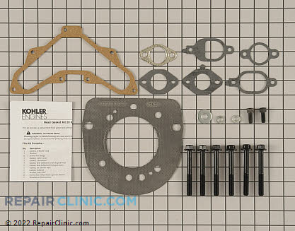 Cylinder Head Gasket Kit, Kohler Engines Genuine OEM  20 841 02-S