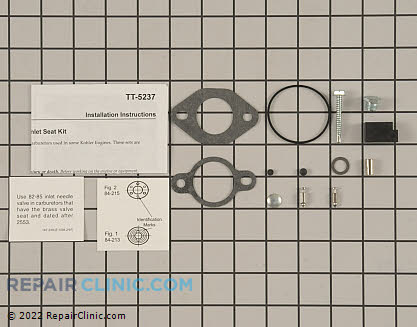 Rebuild Kit, Kohler Engines Genuine OEM  12 521 04-S