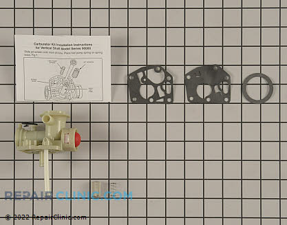 Carburetor, Briggs & Stratton Genuine OEM  494775