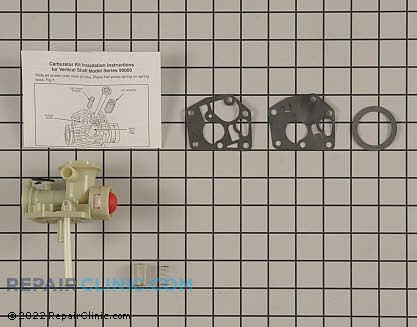 Carburetor, Briggs & Stratton Genuine OEM  498809