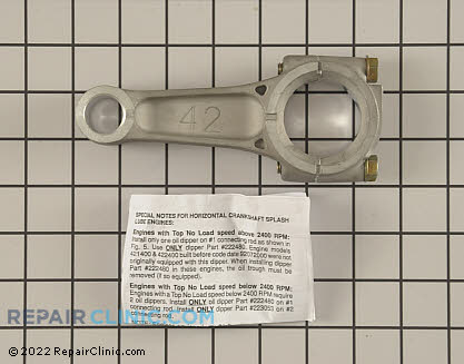 Connecting Rod, Briggs & Stratton Genuine OEM  394306