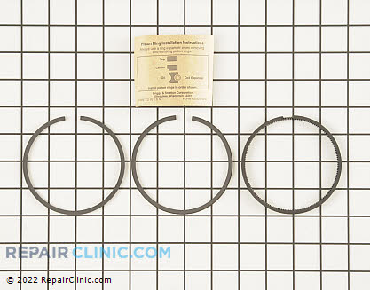 Piston Ring Set, Briggs & Stratton Genuine OEM  495854