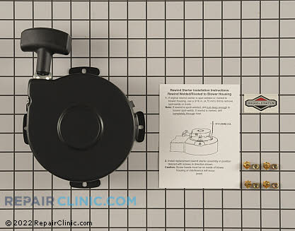 Recoil Starter, Briggs & Stratton Genuine OEM  390463
