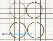 Piston Ring Set - Part # 1610821 Mfg Part # 499604