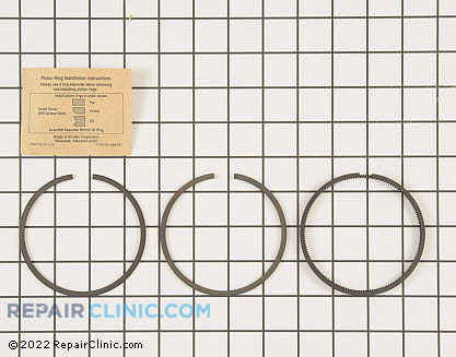 Piston Ring Set, Briggs & Stratton Genuine OEM  499996