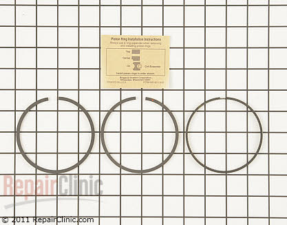Piston Ring Set, Briggs & Stratton Genuine OEM  696403