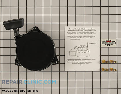 Recoil Starter, Briggs & Stratton Genuine OEM  690101