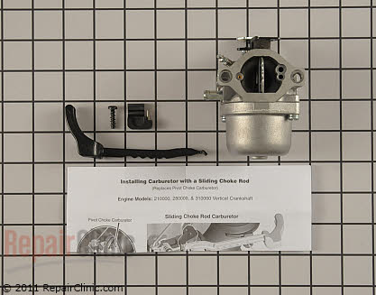 Carburetor, Briggs & Stratton Genuine OEM  794653