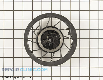 Recoil Starter Pulley, Briggs & Stratton Genuine OEM  697843, 1611161