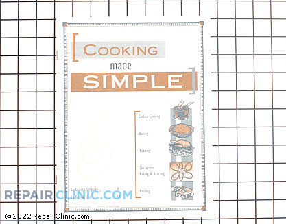 Cooking Guide (OEM)  74007136