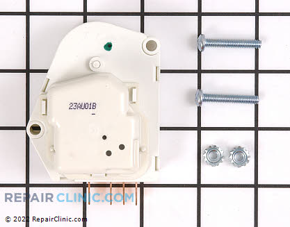 Caloric Freezer Defrost Thermostat